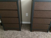 2 matching contemporary dressers in Clarksville, Tennessee
