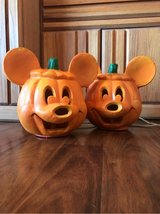 2 Mickey Mouse Jack-o-Lanterns in Alamogordo, New Mexico