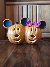 Mickey and Minnie Jack-o-Lanterns in Alamogordo, New Mexico