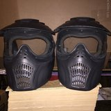 2- Air Soft Masks, Metal in Naperville, Illinois