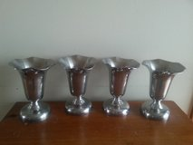 Four Fluted Ice Cream Goblets in Oswego, Illinois