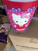 Hello Kitty trash can in Perry, Georgia