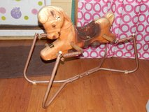 Antique Riding Horse Toy in Fort Campbell, Kentucky