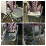 high chair (( needs new cover)) in Fort Drum, New York