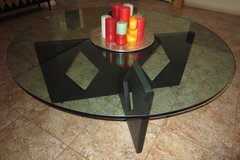 Round Glass COFFEE TABLE in 29 Palms, California