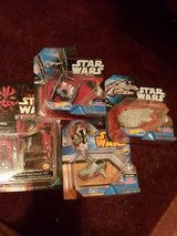 Assorted Star Wars toys in Lawton, Oklahoma