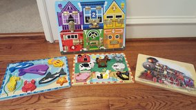 Melissa and Doug Wooden Puzzles in Kingwood, Texas