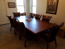 Formal dining table, chairs, and hutch in Vacaville, California
