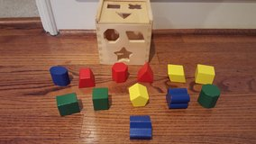Melissa and Doug Shape Sorting Cube in Kingwood, Texas