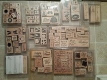 Rubber Stamps  (x104) art / crafts in Fort Campbell, Kentucky