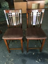 Two side chairs in Oswego, Illinois