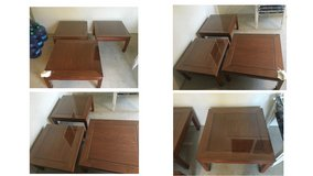 ROSEWOOD (1) COFFEE TABLE AND (2) END TABLES in Temecula, California