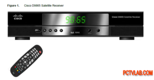 AFN Cisco HD satellite receiver (payday special) in Ramstein, Germany