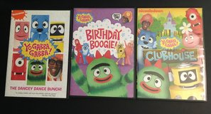 Yo Gabba Gabba DVD lot in Spring, Texas