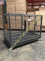 """NEW 37"""" Dog Kennel Heavy Duty Crate Cage Puppy Pen House Wheels in Las Vegas, Nevada"""