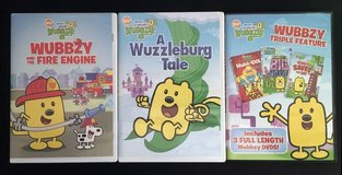 Wow Wow Wubbzy DVD lot in Spring, Texas