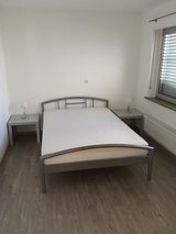 complete bed with mattress and spring in Ramstein, Germany