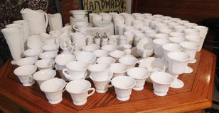 Vintage Milk Glass collection 155 pieces in Westmont, Illinois