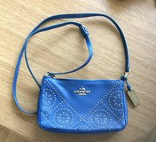 Blue Coach Purse in Baumholder, GE