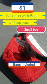 Dog poop clip pouch in Fort Knox, Kentucky