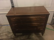 3 draw solidwood  dresser in Fort Campbell, Kentucky
