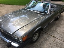 82 Mercedes 380sl - stayed dry through Harvey in Converse, Texas