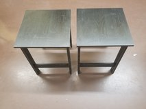 "Ikea Black Side Tables 15""x15""x20"" in Spring, Texas"