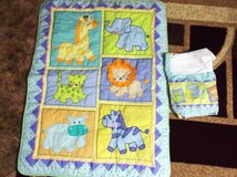 Baby Comforter with Matching Crib Skirt in Alamogordo, New Mexico
