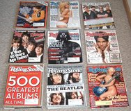 40+ Issues of Rolling Stone Magazine in Morris, Illinois