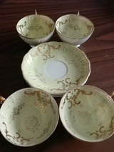 China tea set in Fort Campbell, Kentucky
