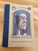 The Bad Beginning (the first book in A Series Of Unfortunate Events) by Lemony Snicket in Manhattan, Kansas