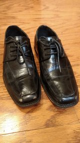 Boy Size 12 Dress shoes in Fort Campbell, Kentucky