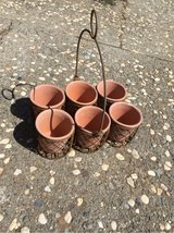 6 pot planter with metal basket in Travis AFB, California