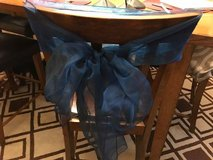 Wedding Chair Bows NAVY - 45 of them! in Naperville, Illinois