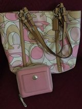Authentic Coach Bag and Wallet in Leesville, Louisiana