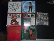 9 Xmas/Easy Listening CDs in Warner Robins, Georgia