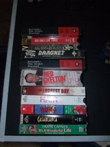12 Classic TV/Movie VHS Tapes in Byron, Georgia