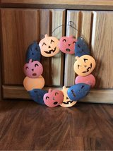 Jack-o-Lantern Metal Wreath in Alamogordo, New Mexico