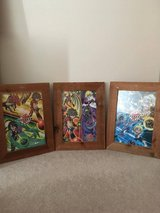 Bakugan puzzle wall art in Joliet, Illinois