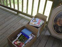 Books --mostly cookbooks in Cleveland, Texas