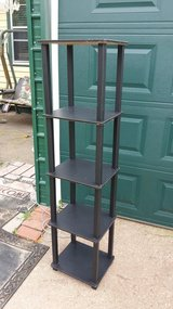 "5 shelf stand 14x12"" 57"" tall in Fort Riley, Kansas"