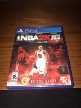 NBA 2k16 for PS4 (used) in Kingwood, Texas