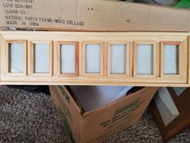2 wood collage picture frames in Tacoma, Washington