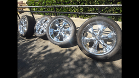 RIMS AND TIRES,  SET OF 22 INCHES in Vacaville, California