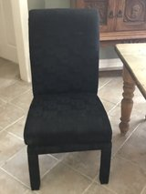 Two Black Swivel Chairs in Kingwood, Texas