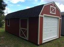 12x24 Cook Lofted Garage - LIFETIME WARRANTY & FREE DELIVERY! in Fort Benning, Georgia