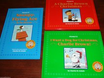 Lot of 3 Peanuts Collector's Edition Charlie Brown & Snoopy Hard Cover Book in Yorkville, Illinois