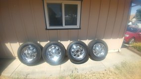 """20"""" Eagle alloy truck wheels&tires in Vacaville, California"""