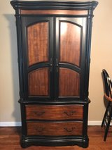 wooden TV stand/armoire in Fort Polk, Louisiana