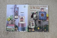 Decorative Painting Craft Book - Log Cabin Scribbles and Stitches...In The Sticks by Debbie Bryan in Alamogordo, New Mexico